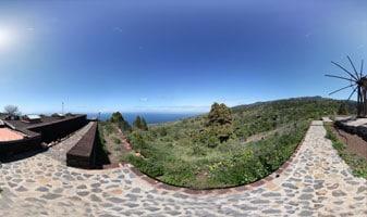 mirador astronómico molino de Buraca, Garafia, isla de la palma