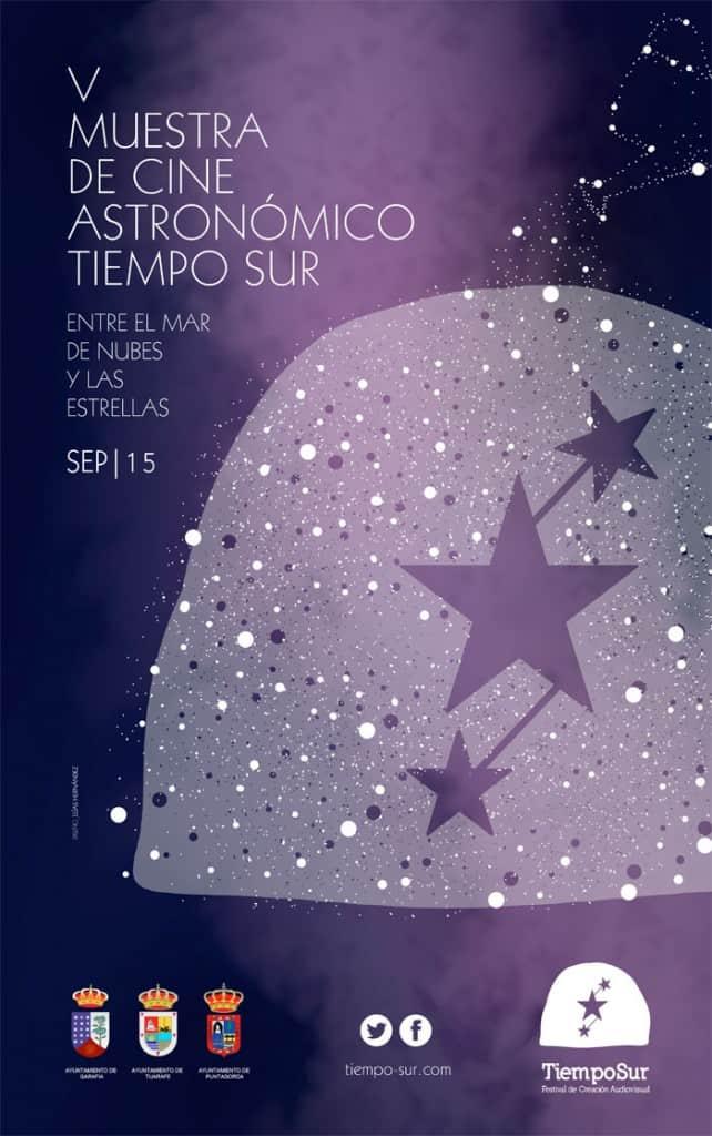 V muestra Cine Astronomica Tiempo Sur 2015, garafía, la palma