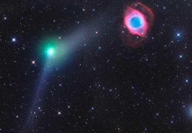 comet-c2013x1-panstarrs-and-ngc-7293