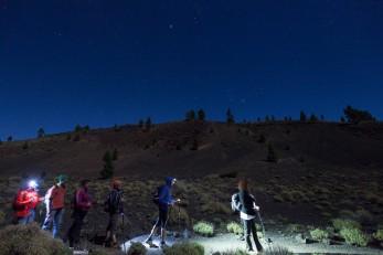 Ruta de la Luna Llena. Turismo de estrellas, isla de La Palma