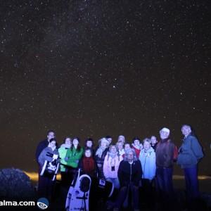 astro camp la palma. turismo de estrellas, la palma, islas canarias